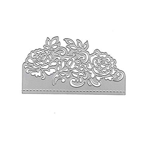 rmen, Rosen Blumen Metall Stanzschablone DIY Scrapbooking Album Stempel Papier Karte Prägung Craft Decor ()
