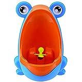 LEORX Orinal para niños Bebé niño orinal Inodoro urinario rana niños Potty entrenamiento orinal