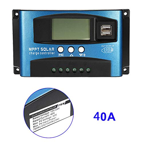Dastrues 40A-100A MPPT Solarpanel Regulator Charge Controller 12 V/24 V Auto Focus Tracking Device 40A Mppt-controller