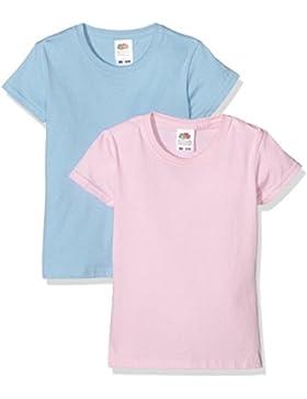 Fotl 0610052 - Maglietta Bambina (Pacco da 2)
