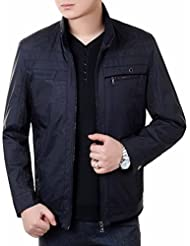 XD-Papá de capa caída del desgaste de hombres llevar la chaqueta de los hombres , navy , 200