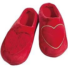 NICI 33320 - Zapatillas de andar por casa, diseño ovejas (talla 36 EU / 4 UK), color blanco [importado de Alemania]