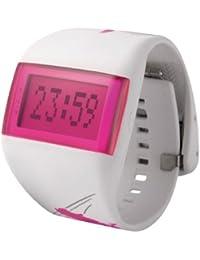 cfc19625d212 ODM DD99B-96 - Reloj digital de caballero de cuarzo con correa de silicona  blanca