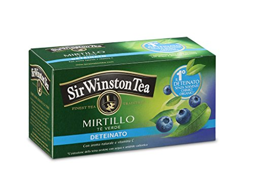 Sir winston tea - decaffeinated green tea with blu il miglior prezzo ...