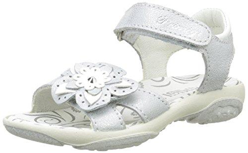 Primigi Girls' Dafne Open Toe Sandals Silver Size: 1 UK