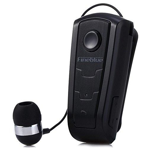 100% originale in-ear fineblue f910?wireless bluetooth v4.0?headset avviso a vibrazione wear clip auricolare vivavoce per smartphone (nero)