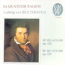 Beethoven : Quatuors à cordes n° 15 et n° 16 [Import anglais]