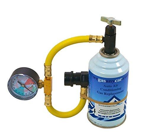 Kit di ricarica Auto aria condizionata fai da te air Con Top up Topup Refi gas (NO RENAULT E PEUGEOT)