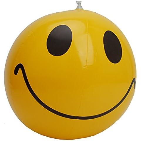 Juguete Pelota Bola de Playa Inflable Natación Piscina Baño Sonrisa Feliz Fiesta para Niño
