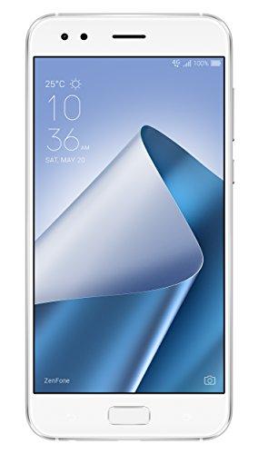 Asus Zenfone 4 ZE554KL Smartphone portable débloqué 4G (Ecran: 5,5 pouces - 64 Go - Double Nano-SIM - Android) Blanc