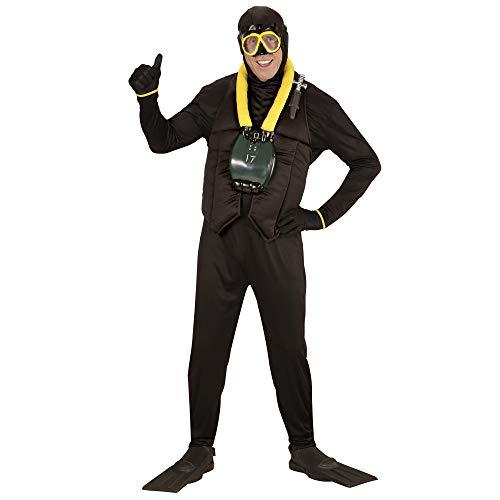 Taucher Kostüm Erwachsene Für - Widmann - Erwachsenenkostüm Taucher