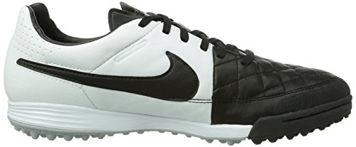 Nike  Tiempo Legacy TF, Chaussures de foot pour homme Black/White-Black Noir (black/white-black)