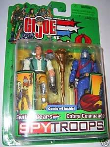 Gi Joe Spy Troops Switch Gears Vs Cobra Commander by