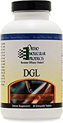 Ortho Molecular Products - DGL - 60 Tablets