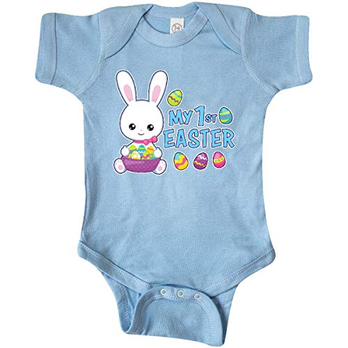 Huahai My 1st Easter with Bunny and Easter Basket Infant Creeper - 1. Christmas Infant Creeper