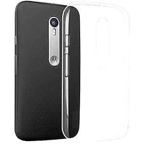 2010kharido Crystal Clear Transparent Hard Back Case Cover For Motorola Moto G (Gen 3),Moto G3