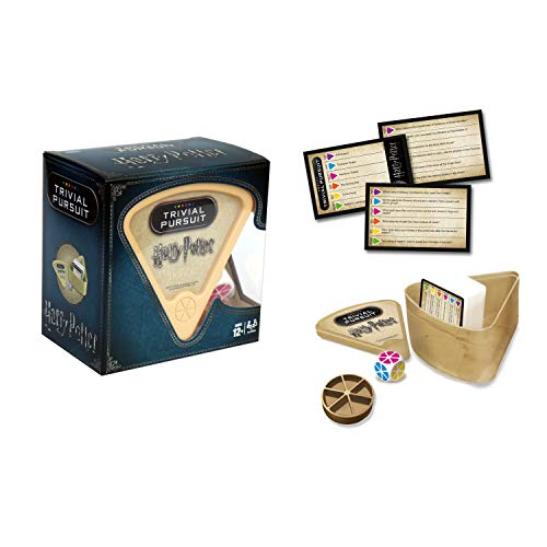 417WNRq9%2B9L - Winning Moves 29612 Juego Harry Potter Trivial Pursuit, Negro