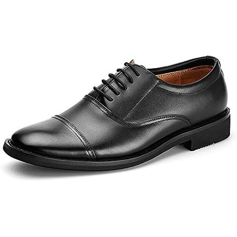 Scarpe da uomo/pattini casuali di affari Primavera/Captain laccio di cuoio
