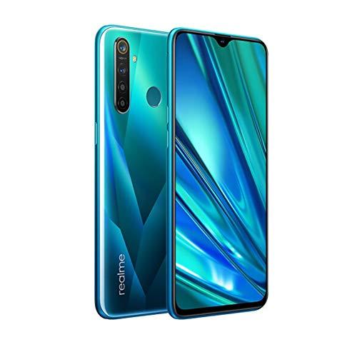 realme 5 Pro Smartphone Handy, 6,3 Zoll 8 GB RAM 128 GB ROM Snapdragon 712 AIE Octa Core 48 MP AI Quad-Kamera 4035 mAh, Dual-SIM, EU Version (Grün)