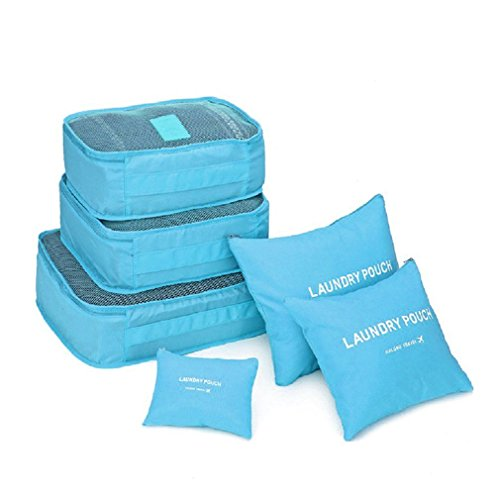 MMBOX , Kofferorganizer blau hellblau