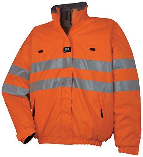 Helly Hansen Veste Hommes Veste Réversible Workwear Coat Motala Reversible Hi Vis Jacket Yellow EN471 M L XL XXL New (L) Orange