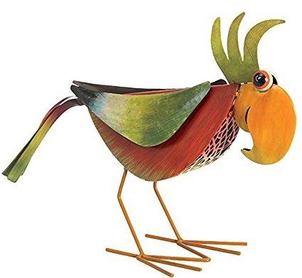 M tal oiseaux jardin for Deco jardin oiseau metal