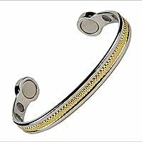 North South High Power Zwei Ton Gold X Magnetische Armband: Größe XL Handgelenk Größe 7¾ bis 8½ Zoll. preisvergleich bei billige-tabletten.eu
