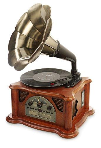 ricatech-rmc350-5-in-1-music-center-plattenspieler-cd-player-radio-mp3-usb-sd-kartenslot-braun
