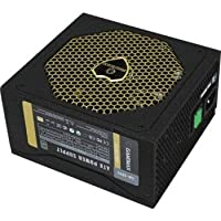 GAMEMAX GM600G 600w 80 Plus Platinum Modular Power Supply/PSU, 5V/+12V/+3.3V DC output, Low Noise 14cm Fan, intelligent fan speed controller, Black | GM 600G