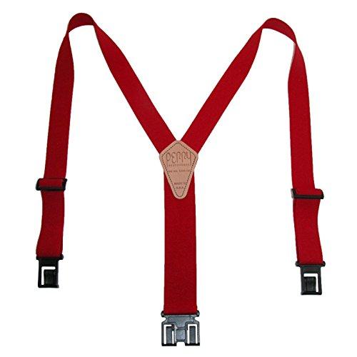 Perry Braces Men's Elastic Hook End Braces