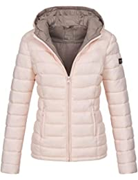 d01953f4c3c9 Marikoo Damen Jacke Steppjacke Herbst Winter Übergangsjacke gesteppt B651