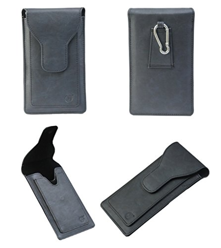 Brain Freezer J Cover A16 F Cutting Edge Series Leather Pouch Holster Case For Nokia Asha 210 Dark Blue  available at amazon for Rs.990