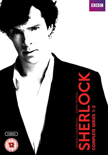 Sherlock - Series 1-3 Box Set [6 DVDs] [UK Import] Fuze-serie