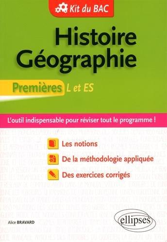 Histoire Géographie Premières L et ES