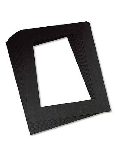 Pacon 726877Matte Rahmen, vorgeschnittenen, 30,5x 45,7cm Größe, schwarz