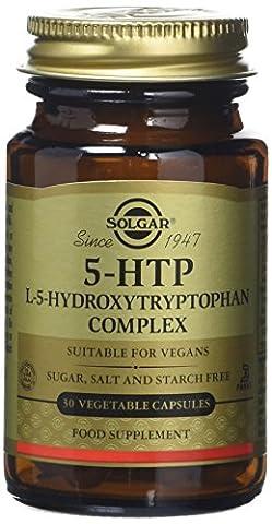 Solgar 5-HTP L-5-Hydroxytryptophan Complex Vegetable Capsules - 30 Capsules