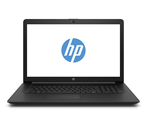 HP 17-by0008ng (17,3 Zoll / HD+) Laptop (Intel Celeron N4000, 1 TB HDD, 8 GB RAM, Intel UHD Graphics, Windows 10 Home) schwarz (Computer-bildschirm Lupe)