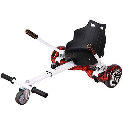 LMEI-HBSITZ Hoverboard Mit Sitz, Hoverboard Kart Sitz Safety Scooter ZubehöR FüR Alle Selbstausgleichenden Hoverboard Scooter (6,5-10 Zoll) / Kinder Und Erwachsene