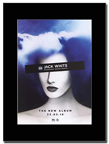 gasolinerainbows - Jake White - Boarding House Reach - Magazin Promo-Artwork auf Einer schwarzen Halterung - Matted Mounted Magazine Promotional Artwork on a Black Mount