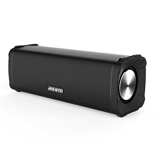 Altavoz Bluetooth Portátil TWS, Altavoz inalámbrico Portátil 12W con cable aux 3.5mm, Sonido Surround con dos altavoces, 8 Horas de Emisión Continua para iPhone, Smartphone, Soporta Todos Dispositivos