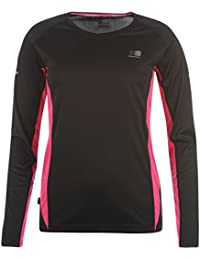 Karrimor Womens Ladies Clothing Long Sleeve Running Jogging T Shirt Top Tee