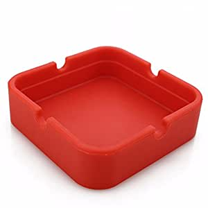 dzt1968 Modern Tabletop Silicone Round Ashtray Eco-Friendly Colorful Premium Silicone Rubber for Home Office Decoration
