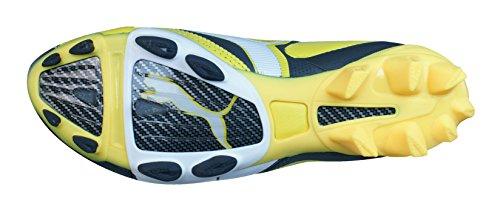 Puma V3.08 i FG Hommes Bottes de football en cuir yellow