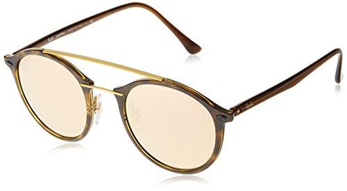 Ray Ban RB4266, Gafas de Sol Unisex, Shiny Havana, 49