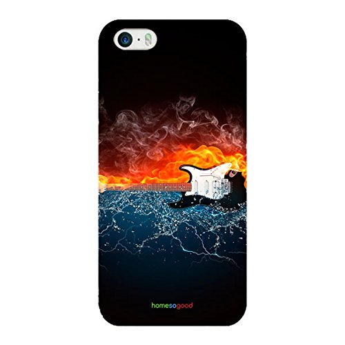 HomeSoGood Hot And Cold Music Multicolor 3D Mobile Case For iPhone 5...