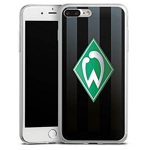 Apple iPhone 8 Slim Case Silikon Hülle Schutzhülle Werder Bremen Fanartikel SV Fußball Silikon Slim Case transparent