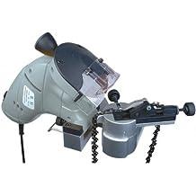 Brüder Mannesmann M12999 - Afilador de cadenas eléctrico para motosierras (230 V), color gris