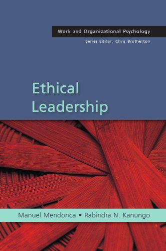 Ethical Leadership (Work and Organizational Psychology)