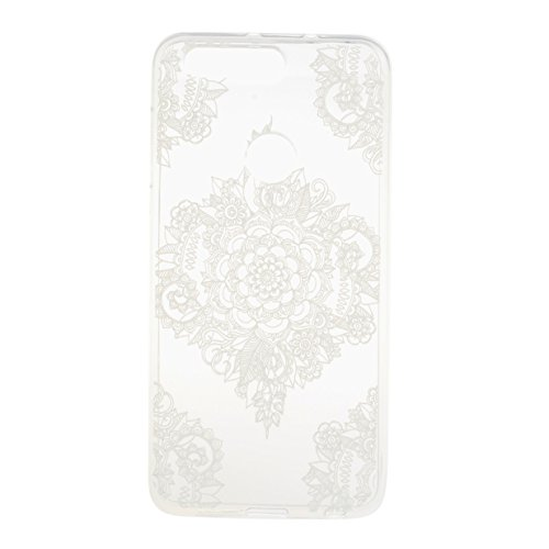 WYSTORE TPU Silicone Case for Huawei Honor 8 Gel Rubber Cover Soft Flexible Shell Slender Slim Bumper Smooth Lightweight Skin Ultra Thin Shell Creative Design Sleeve Anti-Scratch Anti-Shock Cover Prot A1