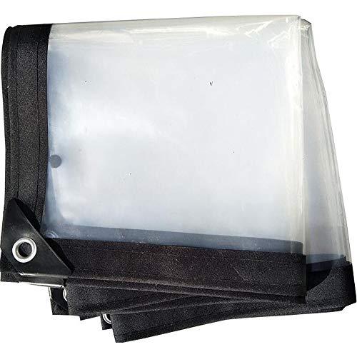 XRFHZT Planenverdickung Einfassung Kunststofftuch wasserdichte Isolierung Stanzen transparentes Kunststofftuch Verdickung wasserdichter Sonnenschutzkunststoff,3mx10m